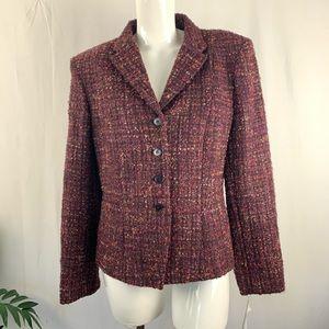Jones New York Tweed Blazer Size 8